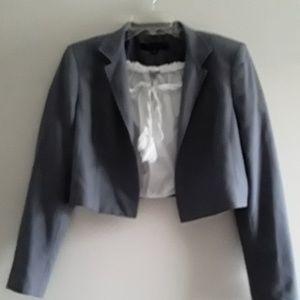 Anne Klein Crop Jacket w/ Charlotte Russe Crop Top